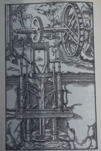 the 1500s state of the art in mine water management