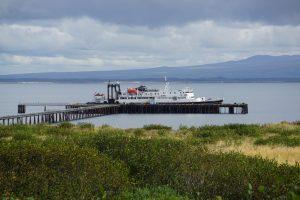 MV Tustumena landed at Cold Bay
